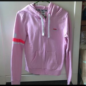 Victoria's Secret VS PINK Hooded Jacket Coat S EUC